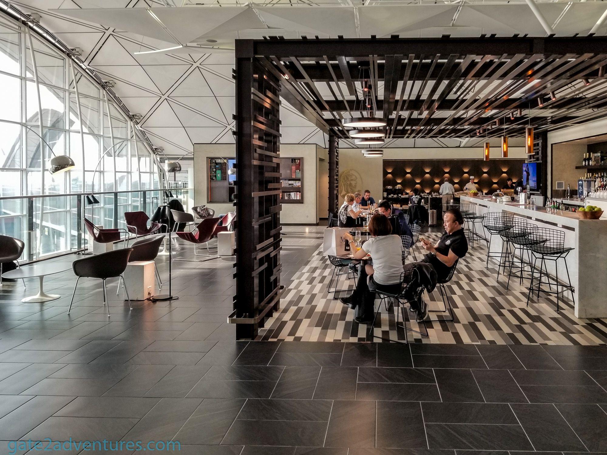 American Express Centurion Lounge Hong Kong International Airport