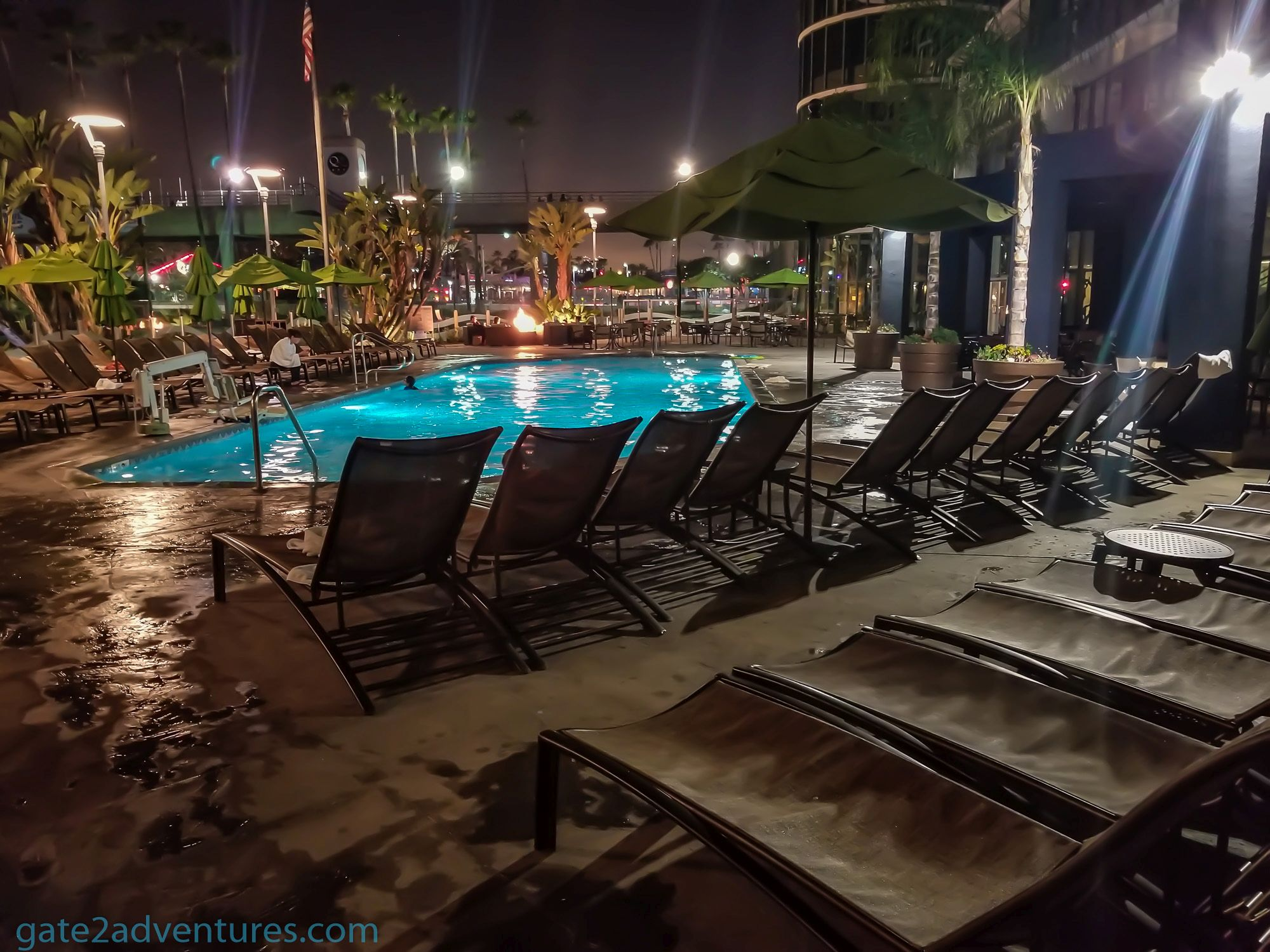 chair rentals long beach ca ivory satin covers hotel review hyatt regency california gate