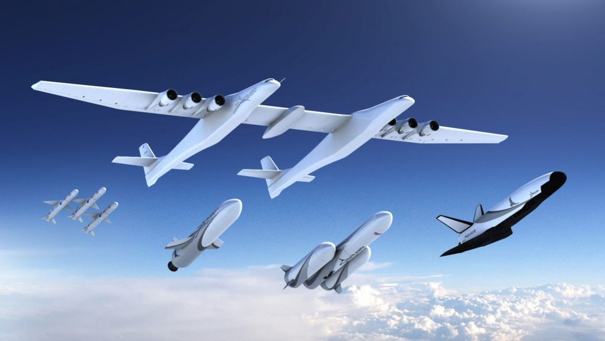 Stratolaunch Unveiled its Fleet of Launch Vehicles