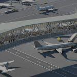 LGA Terminal B-Pedestrian-Bridge