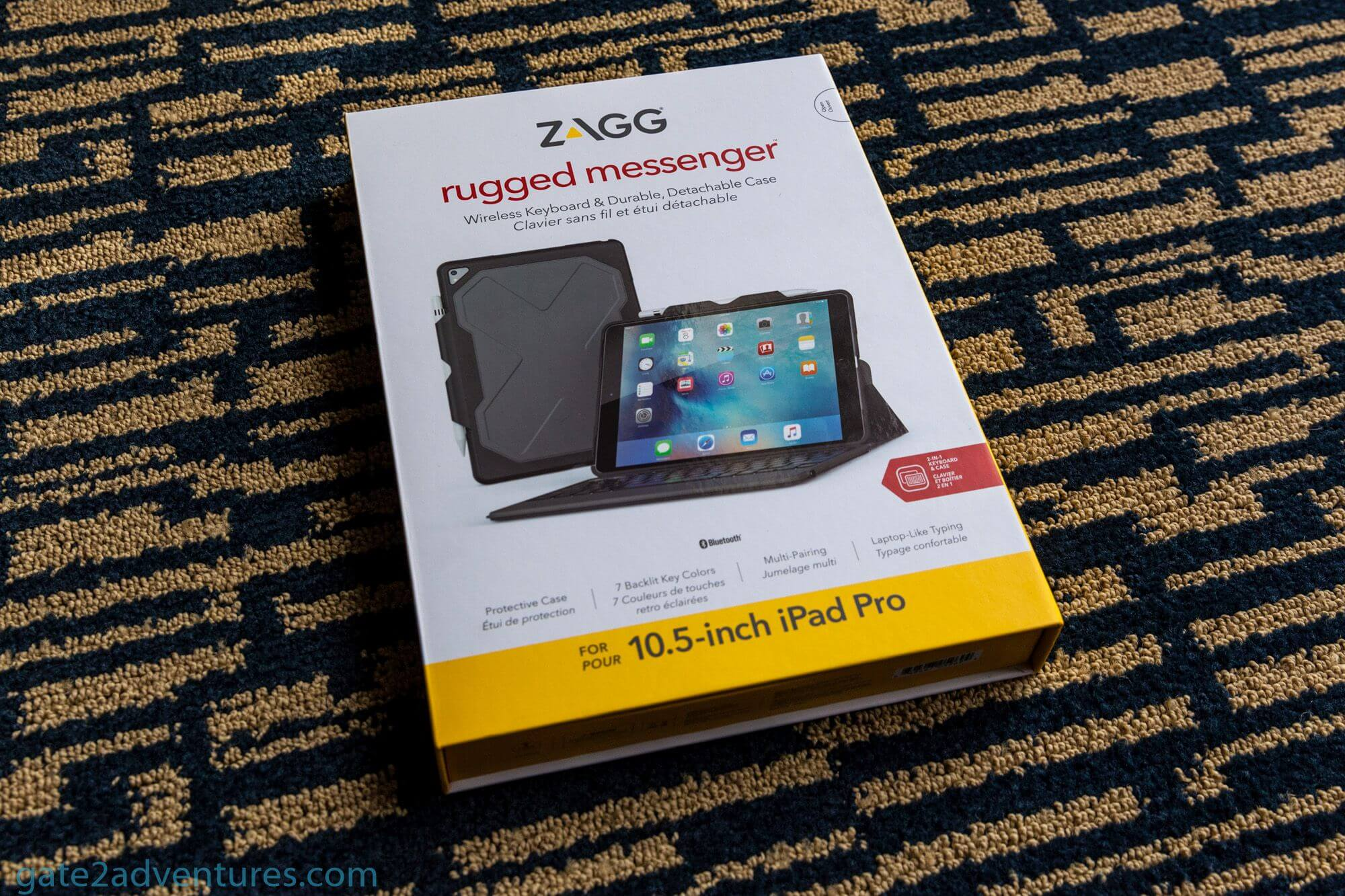 Travel Gadget Review: Zagg Rugged Messenger for the Apple iPad Pro 10.5-inch