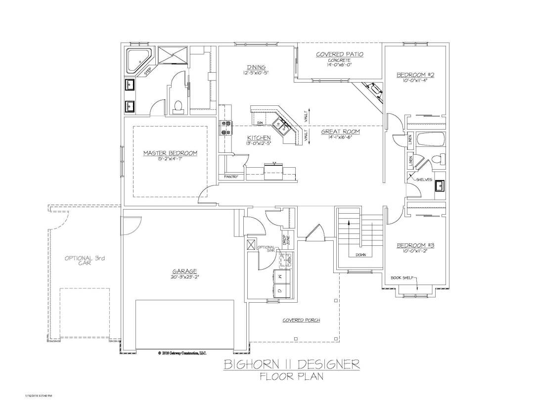 Bighorn II GL Fplan - D