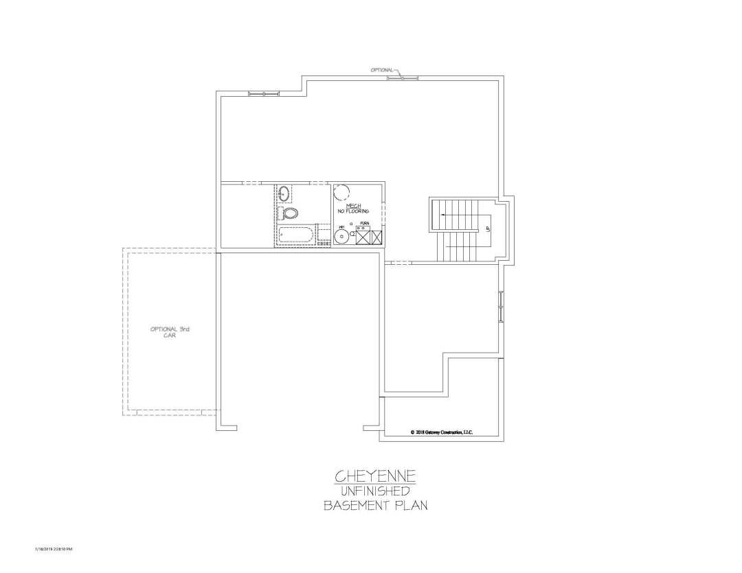Cheyenne GL Basement Unfinished