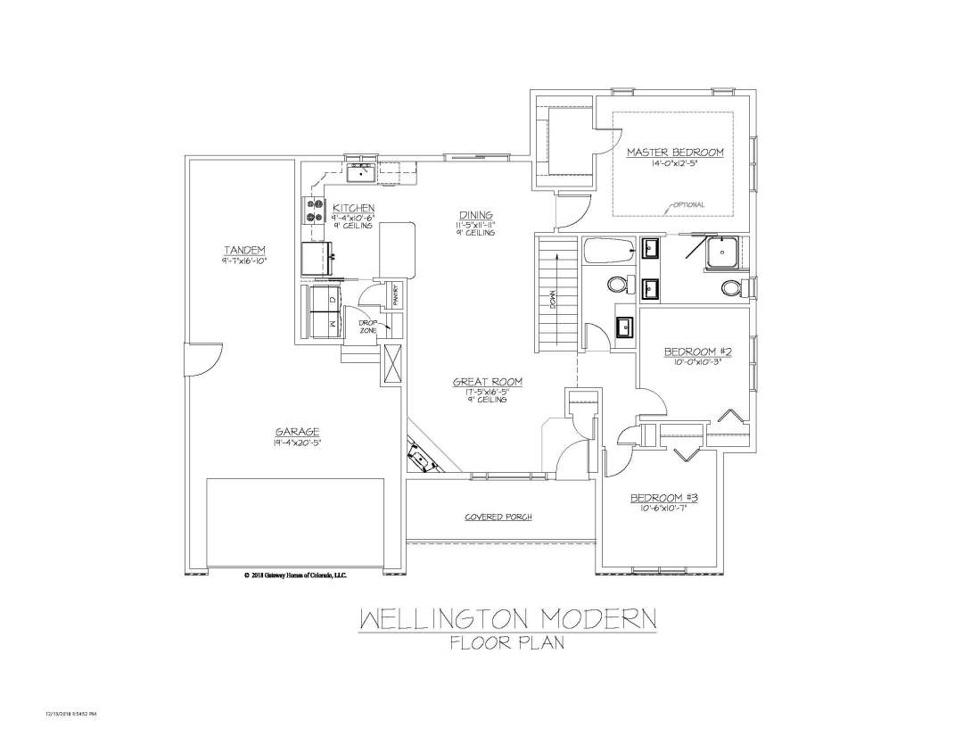SM Wellington Modern Fplan
