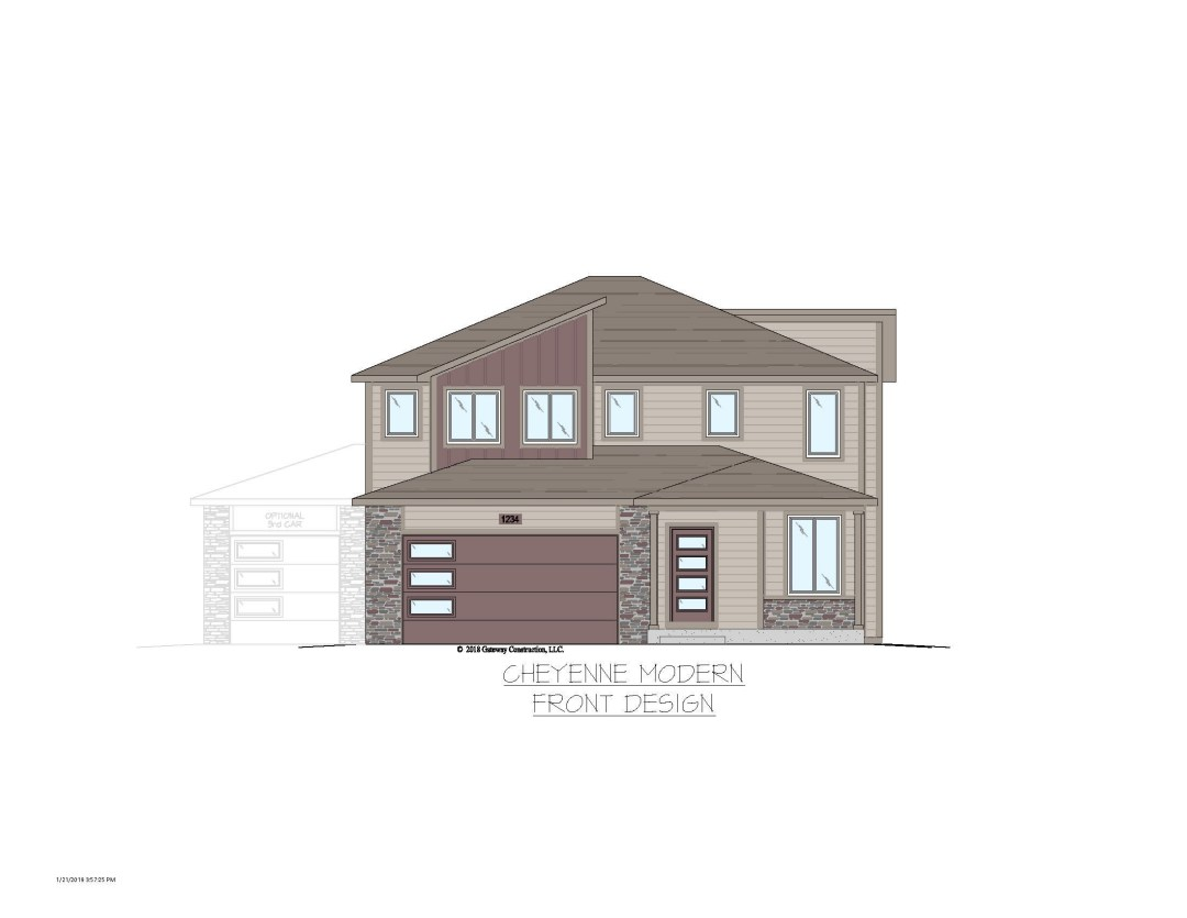 Cheyenne GL Exterior Designs - Colored No Trees Colored
