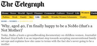 Telegraph - Rachael Lloyd - August 2014