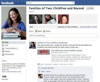 Families of Two, Laura Carroll Facebook Group, 3 October 2011