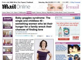 Gateway Women in Daily Mail article by Katherine Baldwin, 3 March 2012 www.gateway-women.com