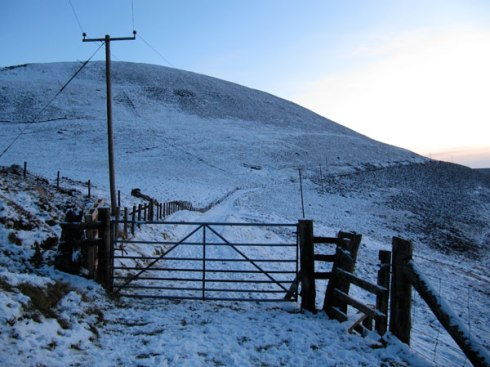 The road less travelled? A winter's Gateway...