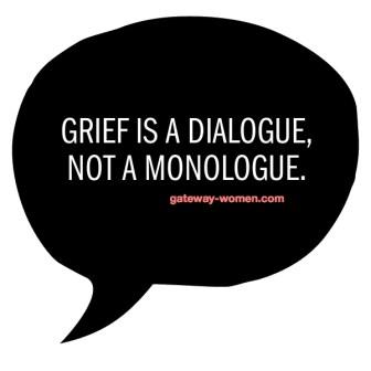 grief speech bubble
