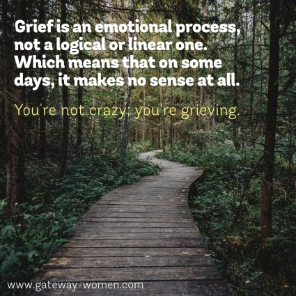Grief isn't logical