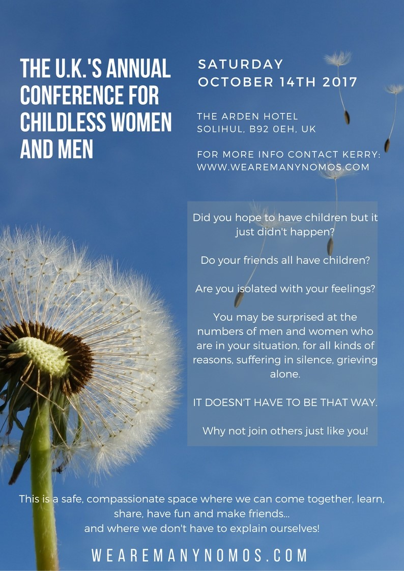 The UK's Annual Conference for Childless Women and Men)