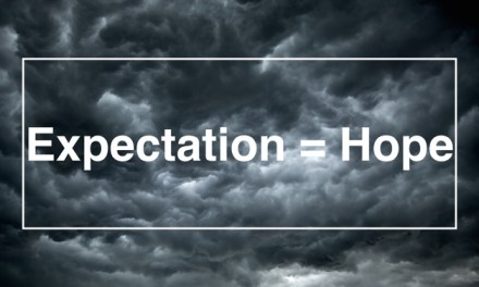 New sermon this coming Sunday: Expectation = Hope