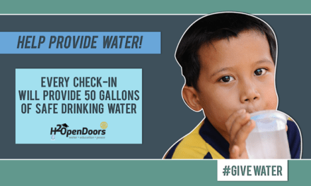 #givewater