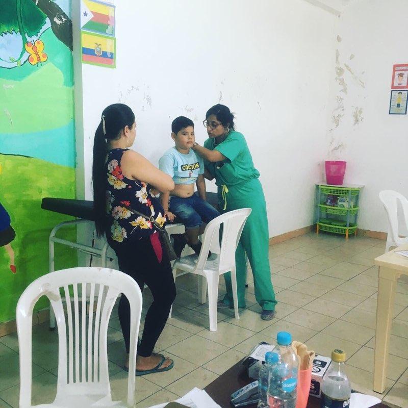 Ecuador 2019 Kids Medical Team