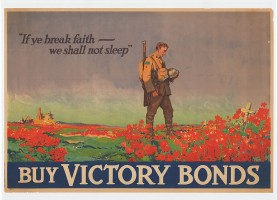 Victory Bonds poster