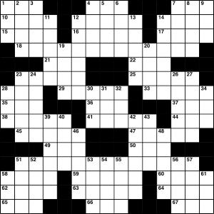 2014-08-01 Crossword Puzzle - 300
