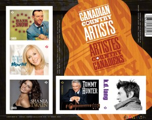 CANADA POST - Canadian Country Music Artists