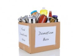Food Bank donation box
