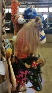 Rowan House - stick horse Betty