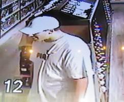 Sierra Springs Liquor Store Theft Suspect