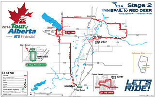 Stage 2 - Innisfail to Red Deer
