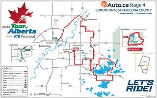 Stage 4 - Edmonton to Strathcona County