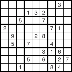 2013-12-11 Sudoku Puzzle