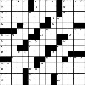 2014-09-02 Crossword Puzzle