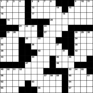 2014-09-16 Crossword Puzzle