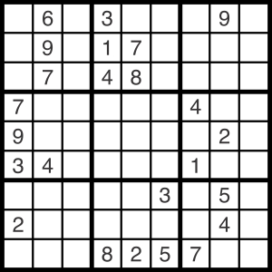 2014-10-18 Sudoku Puzzle