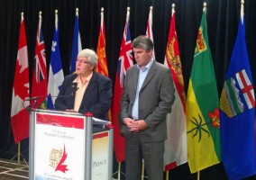 Premier Hancock signs labour mobility agreement-in-principle with Nova Scotia Premier Stephen McNeil