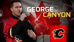 George Canyon - Calgary Flames