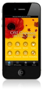 OSI app on iPhone