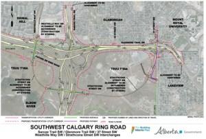 SW Calgary Ring Road
