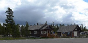 West Yellowstone historic ranger station and home to the smokejumper museum