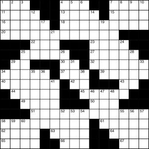 2014-11-15 Crossword Puzzle
