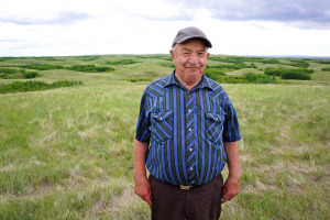 Gottlob Schmidt donates grassland near Hanna to provincial parks system
