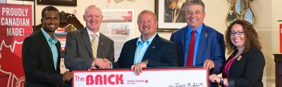 The Brick donates to Wounded Warriors Canada