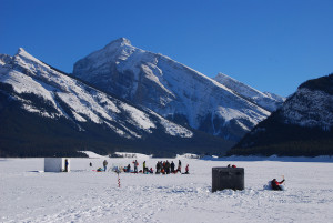Family Day Ice Fishing