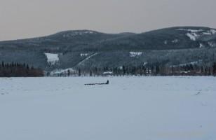 Hugh Neff on the Yukon River