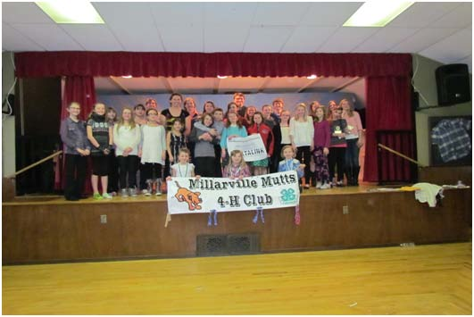 Members of The Millarville Mutts, Mustangs and Marksmen 4-H Club excelled in the public speaking competition held on February 7th