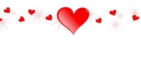 TV School - valentine hearts