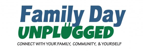 family day unplugged web banner