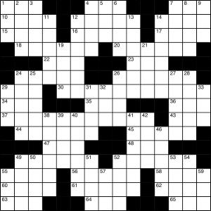 2015-03-21 Crossword Puzzle 300