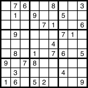 2015-03-28 Sudoku Puzzle