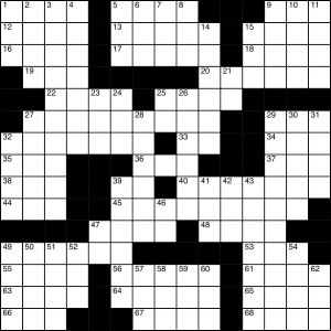 2015-04-18 Crossword Puzzle