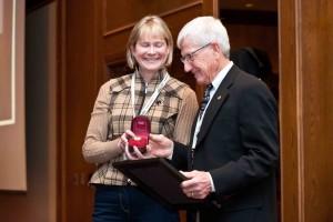 Distinguished Service Award - Dr Wayne Burwash