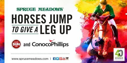Spuce Meadows Give a Leg Up