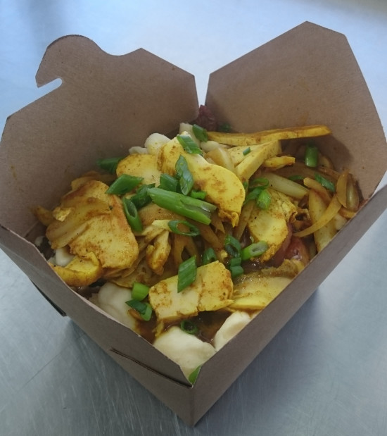 Red Curry Poutine 2